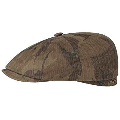Burgundy Stetson Hats Hatteras Bakerboy Cap Organic Cotton