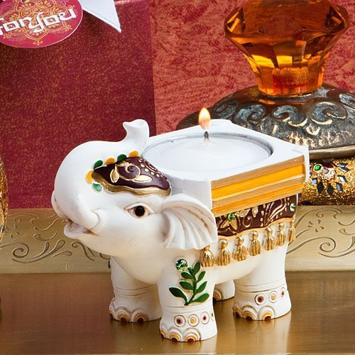 Good Luck Elephant Candle Holders (20)