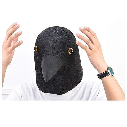 Máscara YN Lujo de la Novedad de Pascua Cuervo Mascarada látex