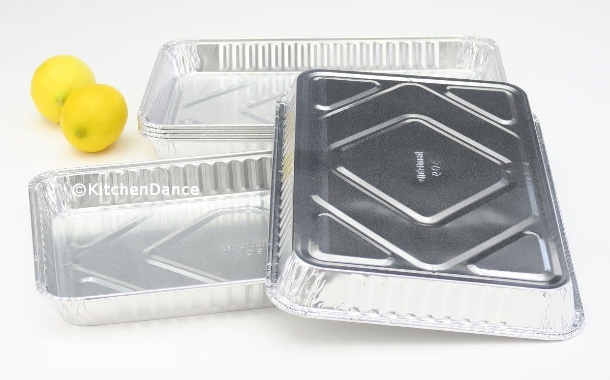 Handi-Foil Aluminum 1/4 Size Sheet Cake Pan, 100 units by Handi-Foil (Image #2)