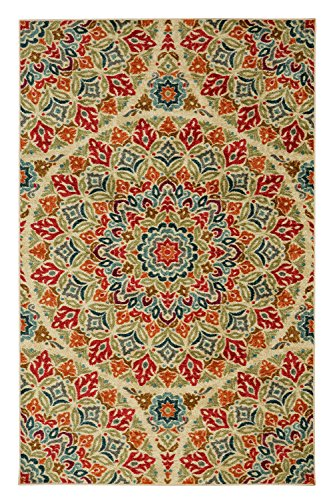 Mohawk Home Strata Jerada Floral Sphere Printed Area Rug, 5'x8', Multicolor by Mohawk Home (Image #2)