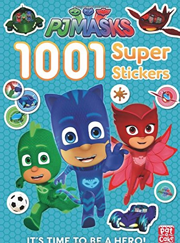 PJ Masks 1001 Stickers Featuring Catboy Owlette Gekko Romeo Luna Girl Night Ninja