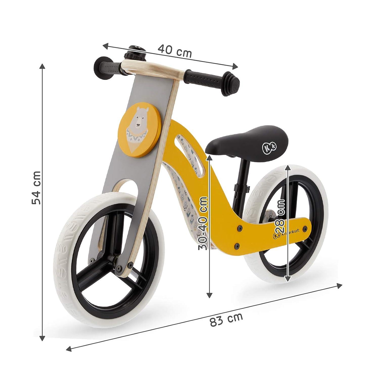kk Kinderkraft - UNIQ Bicicleta Bici sin Pedales Madera Accesorios