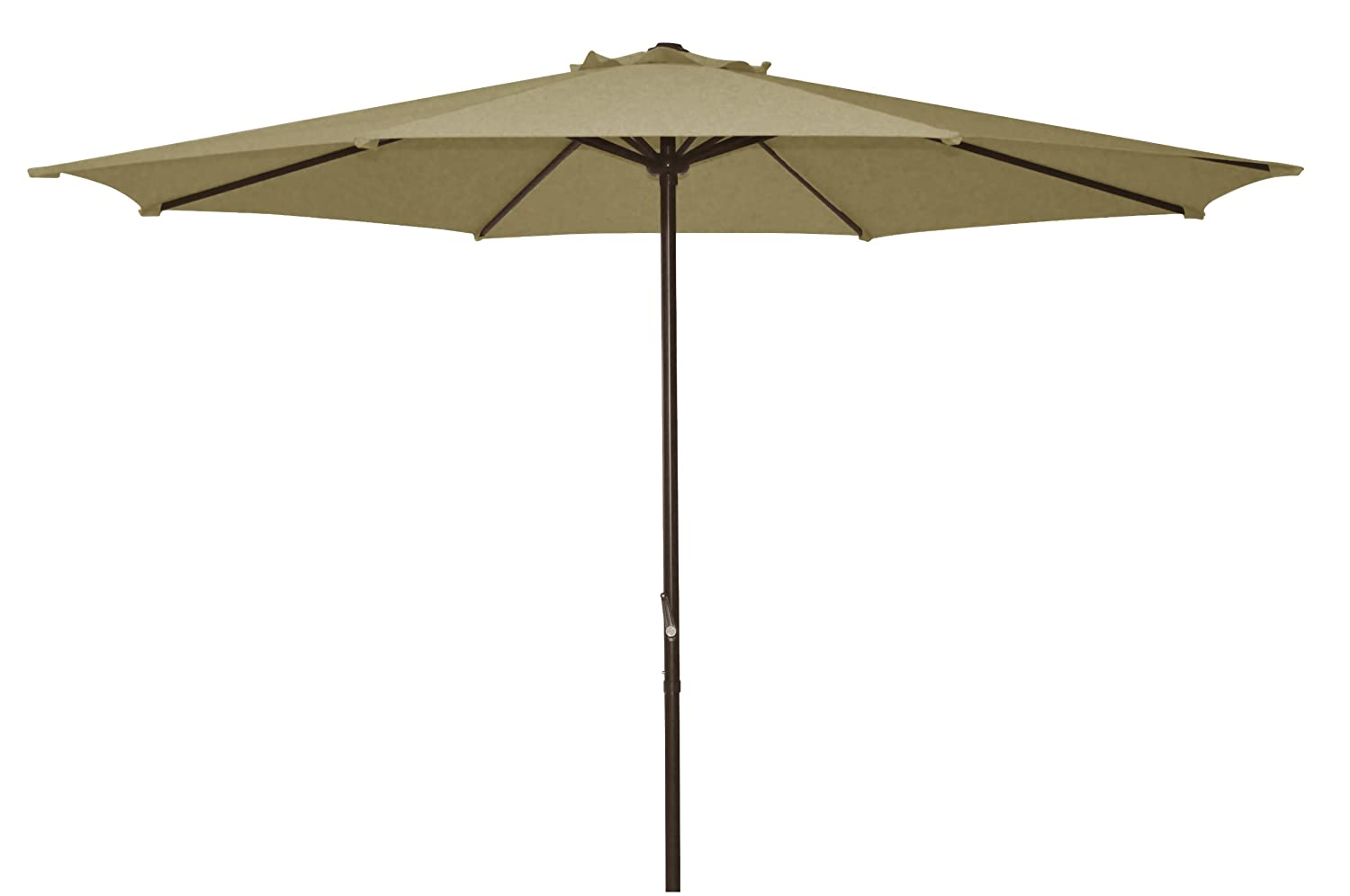 Amazon.com : Ace Evert Market Umbrella 8011S, 9 Ft, Polyester, Beige : Patio  Umbrellas : Garden U0026 Outdoor
