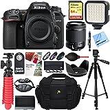 Nikon D7500 20.9MP DX-Format 4K Ultra HD Digital SLR Camera + Tamron 18-200mm Di II VC Lens Accessory Bundle