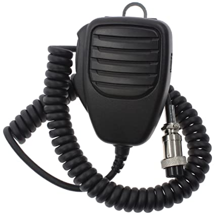 Tenq 8 Pin Handheld Remote Speaker Mic Microphone for Icom Hm Sm Transceiver Icom Sm Mic Wiring Diagram on