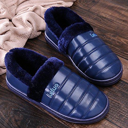 usura Caldo E 44 Pantofole Antiscivolo Inverno Strappare Morbide Scarpe Marine44 43 Sala Laxba Calde Inverno Blu 45 Raccomandato xtq0OXPnZw