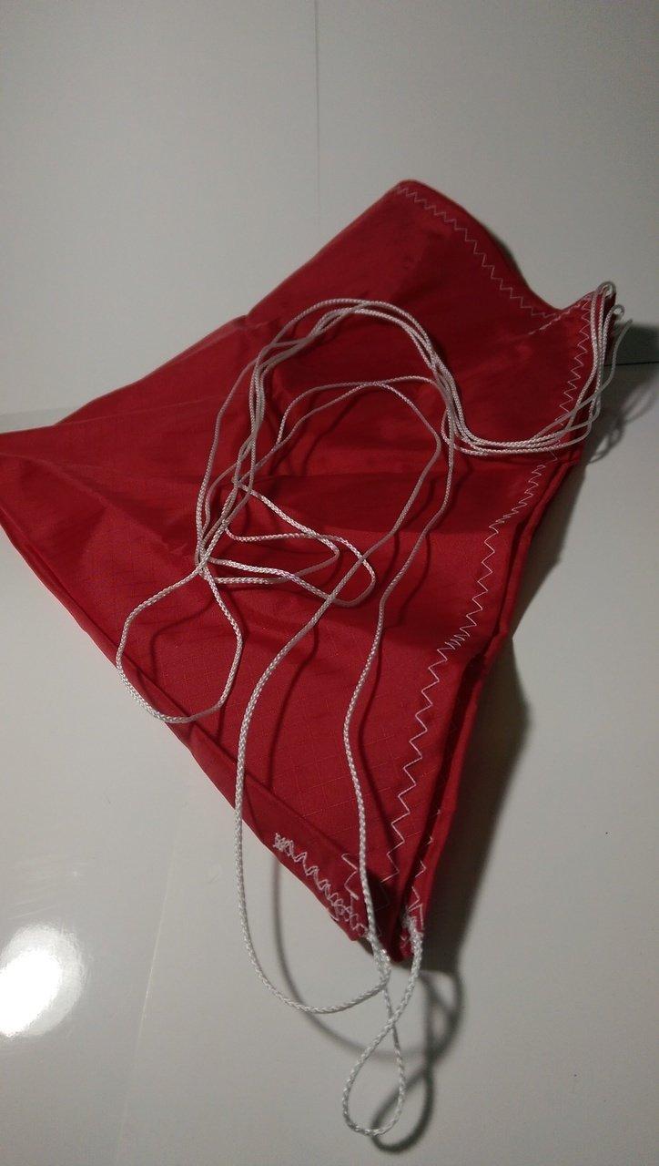 Semroc Parachute Rip Stop Nylon 30'' Red (Top Flight Recovery) SEM-PN-30R