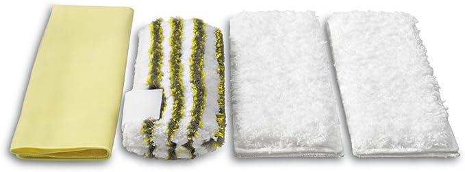 SC 3 per ugello a mano SC 4 SC 5 KEEPOW Set di 8 rivestimenti in microfibra compatibili con pulitore a vapore K/ärcher EasyFix SC 2