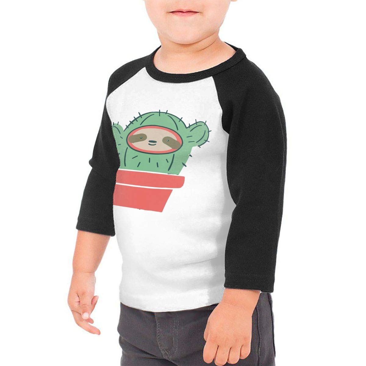 yimo Vandelay Industries Unisex Toddler Baseball Jersey Contrast 3//4 Sleeves Tee