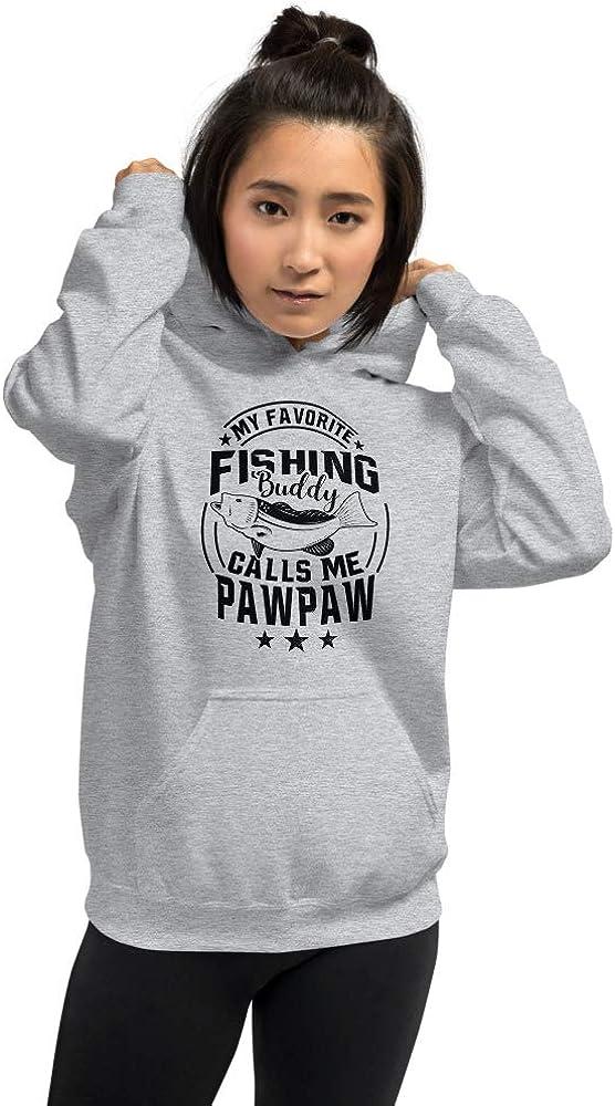 Pod Only My Favorite Fishing Buddy Calls Me Pawpaw Unisex Hoodie