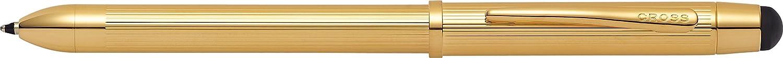 Premium Gift Box Refillable Ballpen /& Pencil CROSS Tech3 Satin Black Multi-Function Ballpoint Pen with Stylus incl