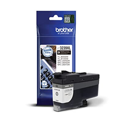 Brother LC3239XLBK - Cartucho de Tinta Negro Original de ...