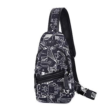 Amazon.com: Bolsas de mensajero para hombre, una bolsa de ...