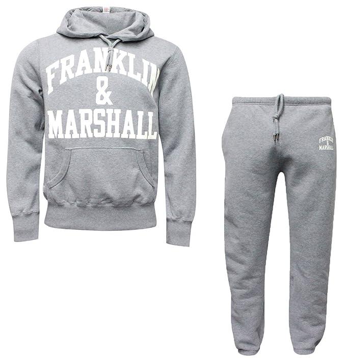online store 028e2 3c276 Franklin & Marshall Mens Grigio Tkmva197 Tuta: Franklin ...