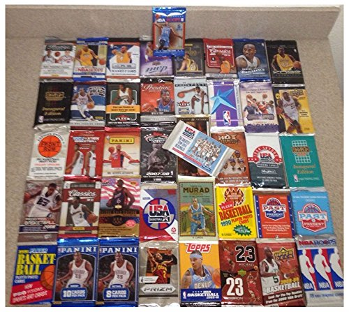 LOT OLD NEW UNOPENED BASKETBALL CARDS IN PACKS (Refractors Basketball Card)