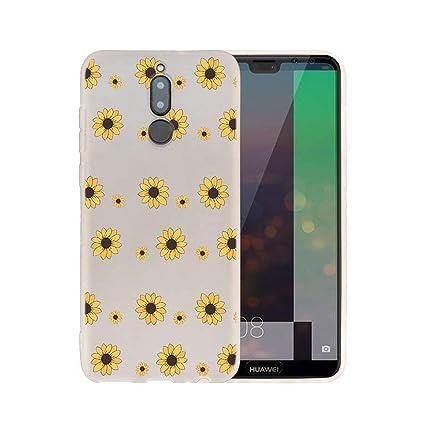 Amazon.com: Carcasa de silicona para Huawei Mate 10 20 Lite ...