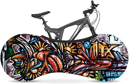DTZWZXCZ Funda Bici para Interiores Funda para Bicicleta Exterior Cubierta Interior De Bicicleta, La Mejor Solución para Mantener Su Interior Limpio para Bicicletas De Adultos D: Amazon.es: Hogar