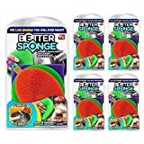 New! As Seen On TV BETTER SPONGE Silicone Mildew-Free Sponges BetterSponge (5 pack)
