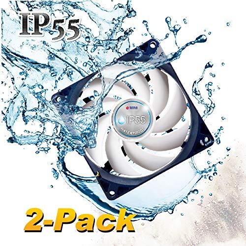 TITAN- 12V DC IP55 Waterproof/Dustproof Case Cooling Fan