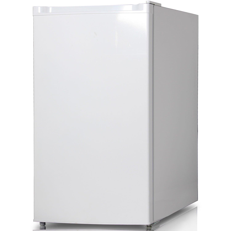 Keystone KSTRC44CW Compact Single-Door Refrigerator with Freezer Section, 4.4 Cubic Feet, White