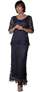 15a9bd792bc62 SOULMATES - 1601 Beaded Embroidered Evening Gown at Amazon Women's ...