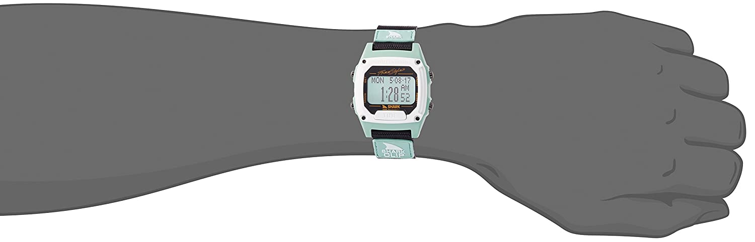 Amazon.com: Freestyle Shark Clip Tide Mint Unisex Watch 10027111: Watches