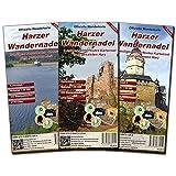 Harzer Wandernadel: 3 teiliges wetterfestes Kartenset