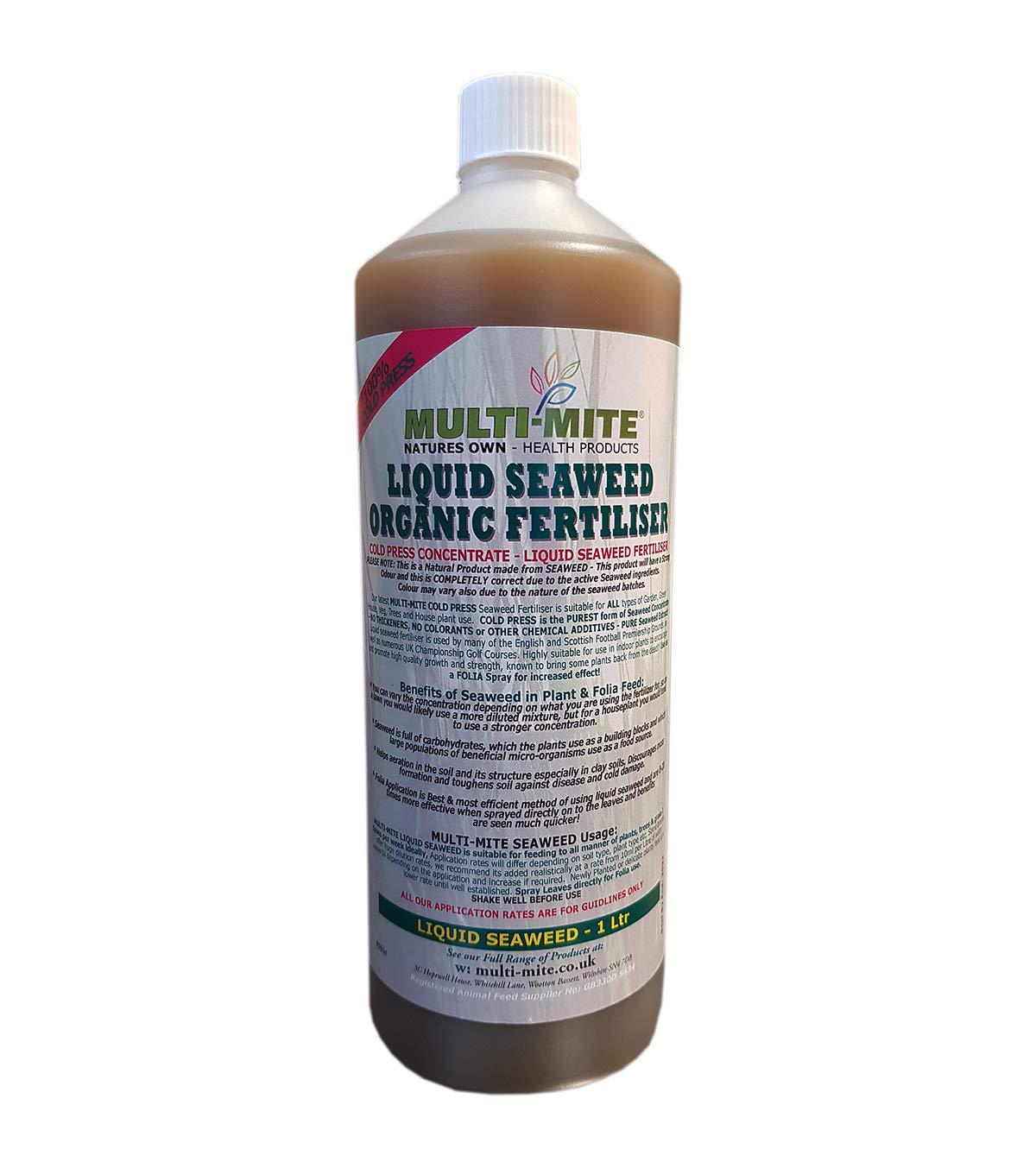 Multi-Mite® 1 Ltr LIQUID SEAWEED Organic Concentrate