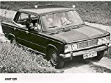 1967 Fiat 125 4 Door Saloon Factory Photo