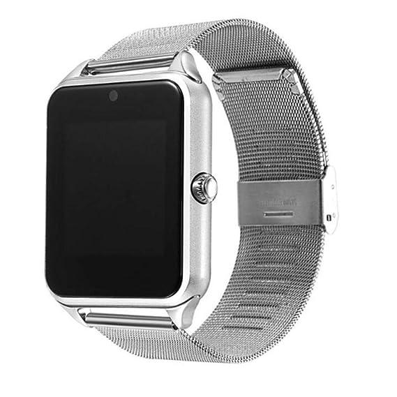 Relojes Reloj Inteligente Correa De Metal iOS Bluetooth ...