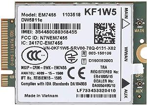 Asixx Card Module, Wireless Module Card, Replacement Wireless EM7455 for Dell DW5811e 3P10Y Qualcomm 4G LTE WWAN NGFF Card Module