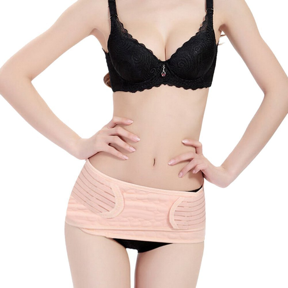 Gurt f/ür Frauen Schwangerschaft und Mutterschaft Nackt,Gr/ö/ße M Wieder Bauch // Taille // Beckengurt Body Shaper Butterme 3 in 1 Atmungsaktive elastische Postpartum Unterst/ützung