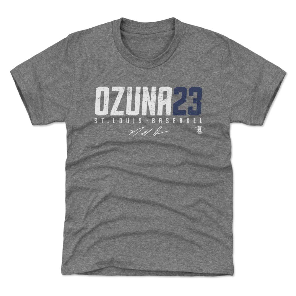 factory price 3c235 d4b74 Amazon.com : 500 LEVEL Marcell Ozuna St. Louis Baseball Kids ...