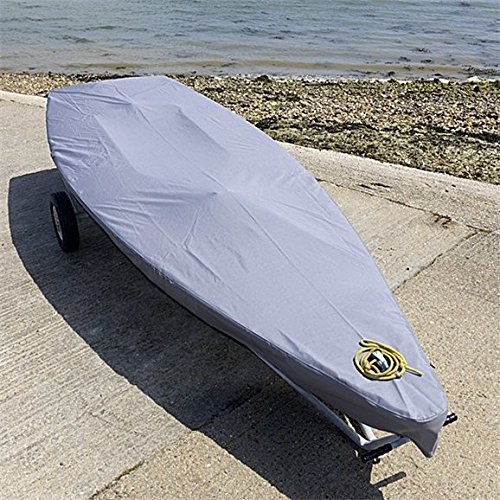 North American Custom Covers Laser Dinghy Sailboat Deck Cover - Tailored, Waterproof & Breathable - Grey ()
