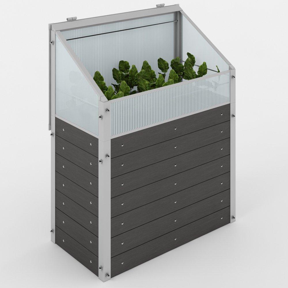 Invernadero para plantas de suelo elevado, vivero ...