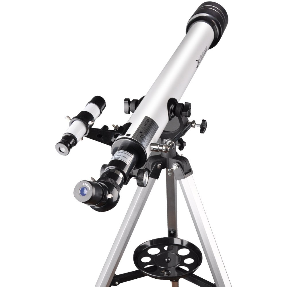 Landove Telescope,60AZ 700mm Travel Scope-Portable Telescope for Beginners and Kids to Observe Moon and View Land-Come with Tripod and 10mm Smartphone Digiscoping Adapter by Landove (Image #5)