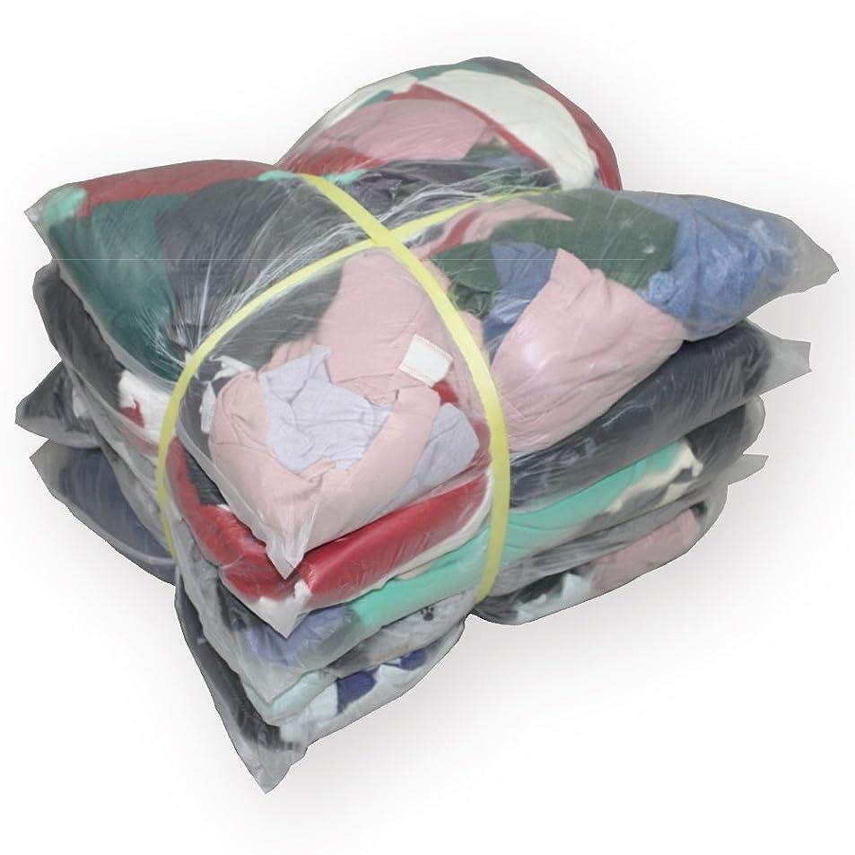 チョークれる怒りタオルウエス ( リサイクル生地 ) 20kg 梱包 / 4kg × 5袋