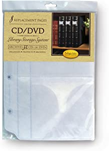 Bellagio-Italia Large DVD Binder Insert Pages
