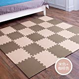 HOMEE Child Bedrooms Stitching Creeper Pad Assembly Spelling Floor Mat Thick Baby Climb up Pad Foam Rollmat Tatami,N),20 Pack