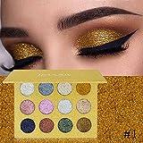 Glitters Eyeshadow Single Eyeshadow Pressed Glitter Diamond Cosmetics Eyeshadow Palette