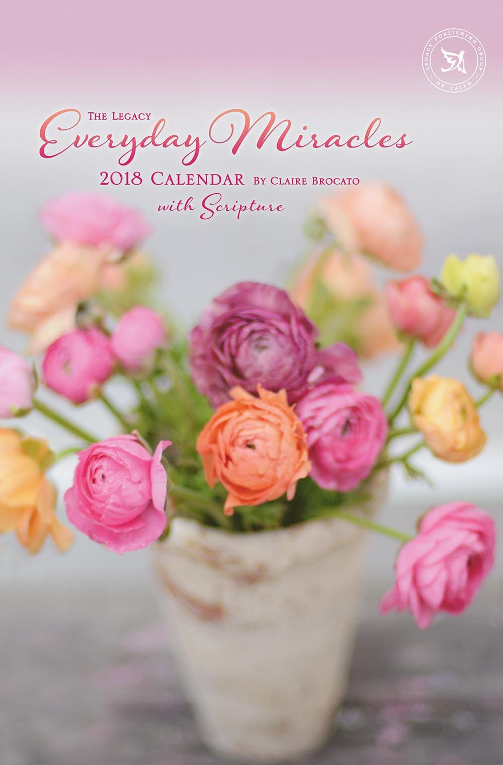 Read Online 2018 12-Month Large Wall Calendar with Scripture, Everyday Miracles pdf