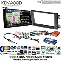 Volunteer Audio Kenwood Excelon DNX994S Double Din Radio Install Kit with GPS Navigation Apple CarPlay Android Auto Fits 2014-2016 Mazda CX-5