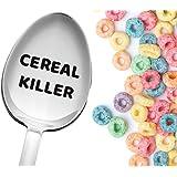 Giant Cereal Killer 汤匙由 Weenca 雕刻勺子独特大谷物勺*佳青少年礼物 Cereal Killer 43205-43128