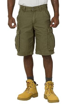 69c8bb14e2 Carhartt Rugged Cargo Shorts - Green Work Shorts 100277 301 Mens Workwear  CS.100277.301: Amazon.co.uk: Clothing