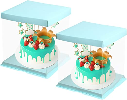 """TAG Party Candles Long 6/"""" Tall Blue Cake Cupcake Birthday Baby Shower Pack of 12"""
