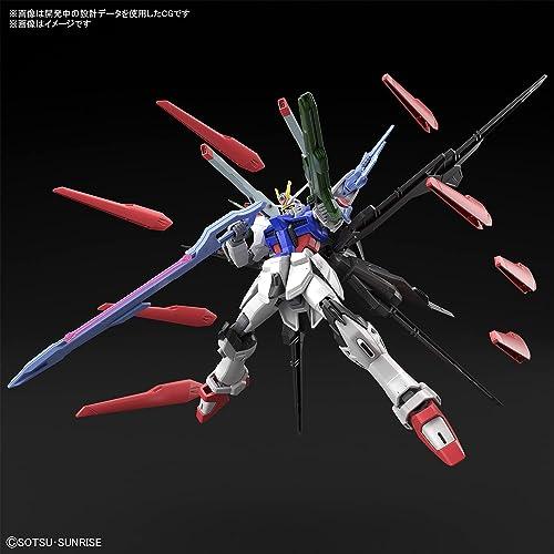 HG ガンダムブレイカーバトローグ ガンダムパーフェクトストライクフリーダム 1/144スケール 色分け済みプラモデル