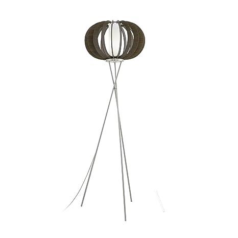 Moderna - Lámpara de pie (Altura 159 cm, 3 secciones con columna ...