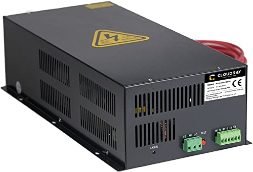 Cloudray CO2 Laser Power Supply 110-220V HY-W150 for CO2 Laser Tube W Series by Cloudray