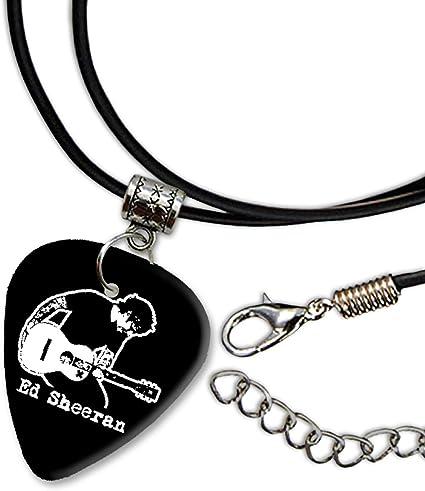Ed Sheeran Diseño 1 guitarra Plectrum Cord Collar Necklace bweg ...